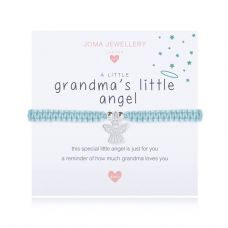 Joma Jewellery A little GRANDMA'S LITTLE ANGEL Childs Adjustable Threaded Bracelet